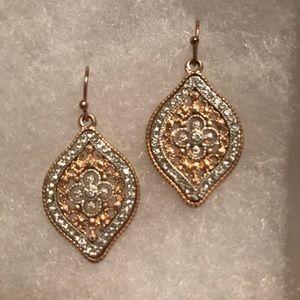 Jewelry - Rose Gold-Tone Fashion Earrings